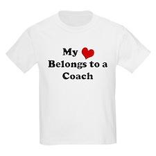 Heart Belongs: Coach Kids T-Shirt