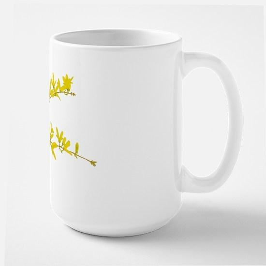 Large Forsythia Mug