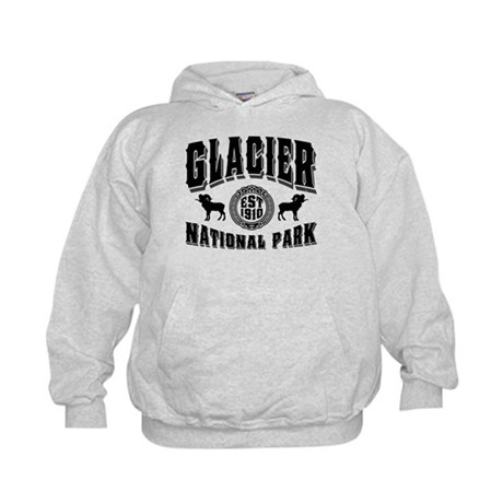 Glacier Established 1910 Kids Hoodie