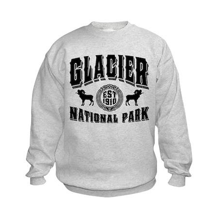 Glacier Established 1910 Kids Sweatshirt