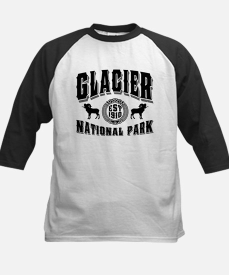 Glacier Established 1910 Kids Baseball Jersey