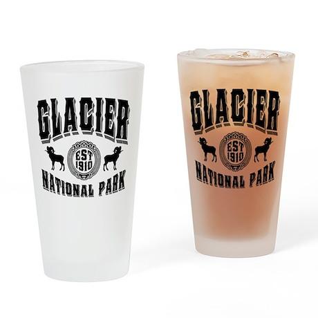 Glacier Established 1910 Drinking Glass