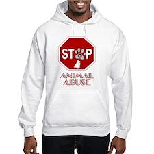 Stop Animal Abuse 1 Hoodie