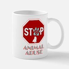 Stop Animal Abuse 1 Mug