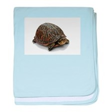 Cute Box turtle baby blanket