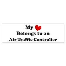 Heart Belongs: Air Traffic Co Bumper Bumper Sticker