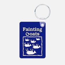 Fainting Goats Keychains