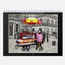 New Orleans by Knight VI - Wall Calendar