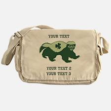 Irish Honey Badger Messenger Bag