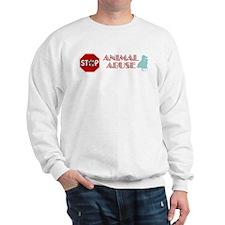 Stop Animal Abuse 2 Sweatshirt
