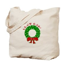 Cherokee Christmas Wreath Tote Bag