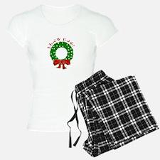 Cherokee Christmas Wreath Pajamas