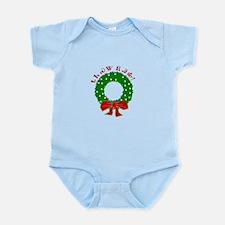 Cherokee Christmas Wreath Infant Bodysuit