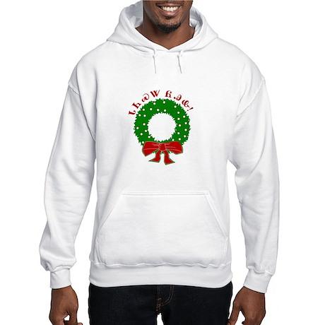 Cherokee Christmas Wreath Hooded Sweatshirt