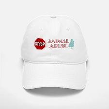 Stop Animal Abuse 2 Baseball Baseball Cap