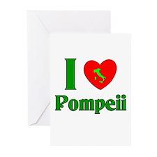 I Love Pompeii Greeting Cards (Pk of 10)