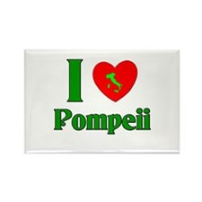 I Love Pompeii Rectangle Magnet