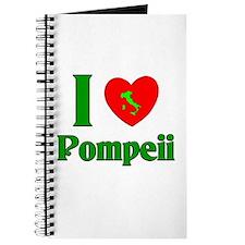 I Love Pompeii Journal