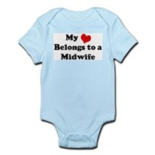 Heart Belongs: Midwife Infant Creeper