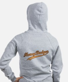 Team Honey Badger Zip Hoodie