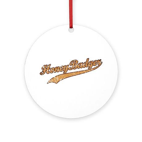 Team Honey Badger Ornament (Round)