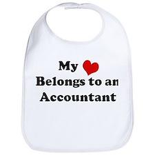 Heart Belongs: Accountant Bib