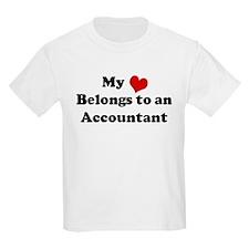 Heart Belongs: Accountant Kids T-Shirt