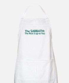 The SABBATH The Rest Is Up To You BBQ Apron