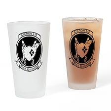VA-216 Black Diamonds Drinking Glass