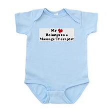 Heart Belongs: Massage Therap Infant Creeper