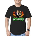 Hosts/Flames 2 Men's Fitted T-Shirt (dark)