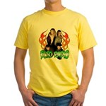 Hosts/Flames 2 Yellow T-Shirt