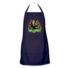 Hosts with Flames 1 Apron (dark)
