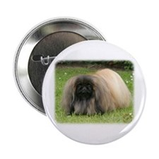 "Pekingese 9Y218D-016 2.25"" Button"
