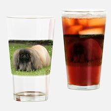 Pekingese 9Y218D-016 Drinking Glass
