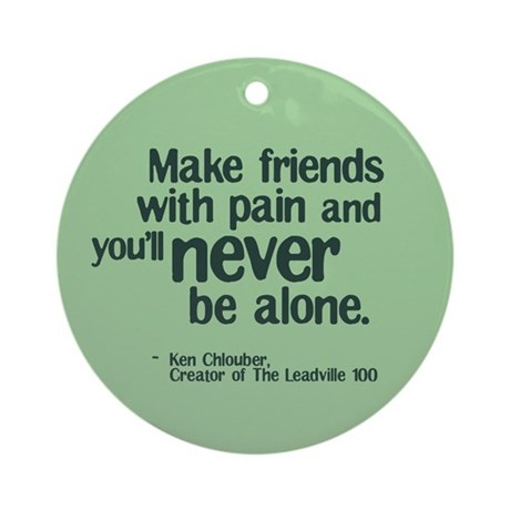 Make Friends Ornament (Round)