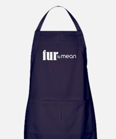 Fur Is Mean Apron (dark)