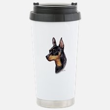 Miniature Pinscher Stainless Steel Travel Mug