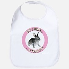 Bunny Baby Bib: Hear a Treat?
