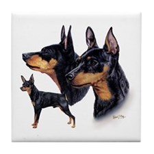 Miniature Pinscher Tile Coaster