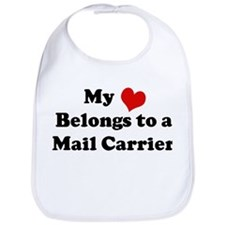 Heart Belongs: Mail Carrier Bib