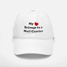 Heart Belongs: Mail Carrier Baseball Baseball Cap