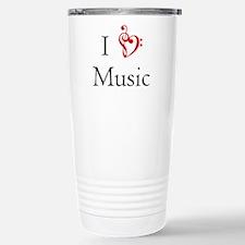 I Heart Music Travel Mug