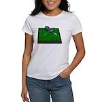 Golf Clubs Bag on Grass Women's T-Shirt