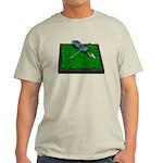 Golf Clubs Bag on Grass Light T-Shirt