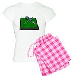 Golf Clubs Bag on Grass Women's Light Pajamas