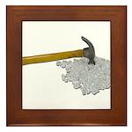 Hammer Broken Glass Framed Tile