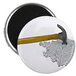Hammer Broken Glass Magnet