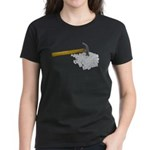 Hammer Broken Glass Women's Dark T-Shirt