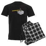 Hammer Broken Glass Men's Dark Pajamas